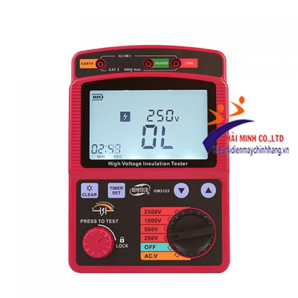 Đồng hồ đo điện trở cách điện Benetech 3123