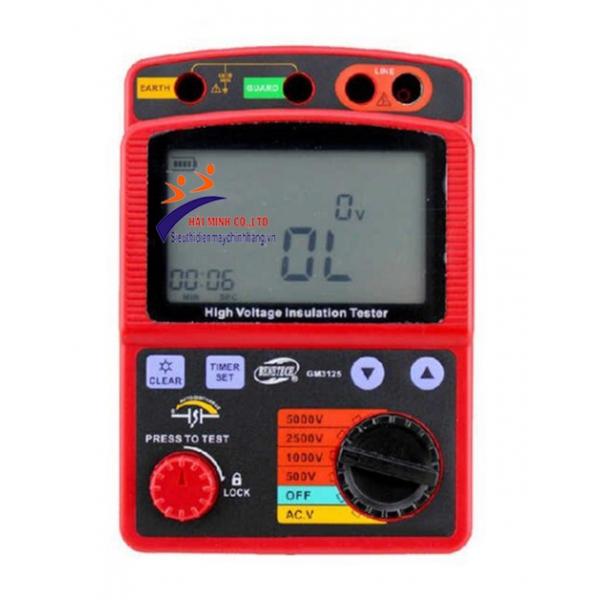 Đồng hồ đo điện trở cách điện Benetech 3125