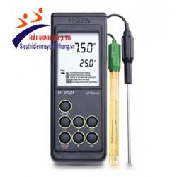 Máy đo pH Và nhiệt độ cầm tay HI9124