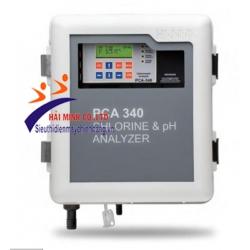 Máy phân tích và kiểm soát Clo/pH/Nhiệt Độ PCA340-2