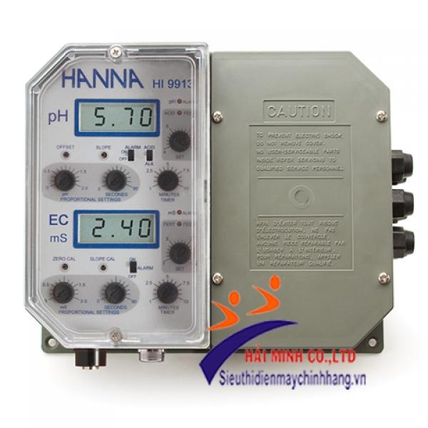 Bộ Điều Khiển Kép pH/EC Treo Tường HI9913-2