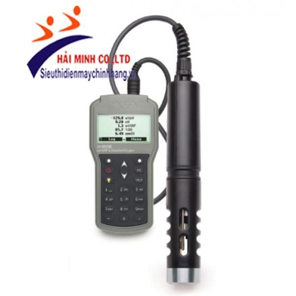 Máy Đo pH/ORP/DO/Áp Suất/Nhiệt Độ HI98196