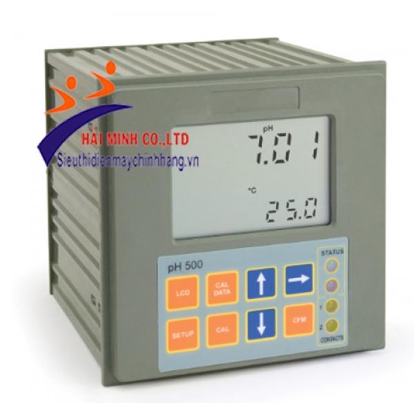 Màn hình điều khiển pH-2 điểm cài đặt, kiểm soát proportional, đầu ra RS232 PH500222-2