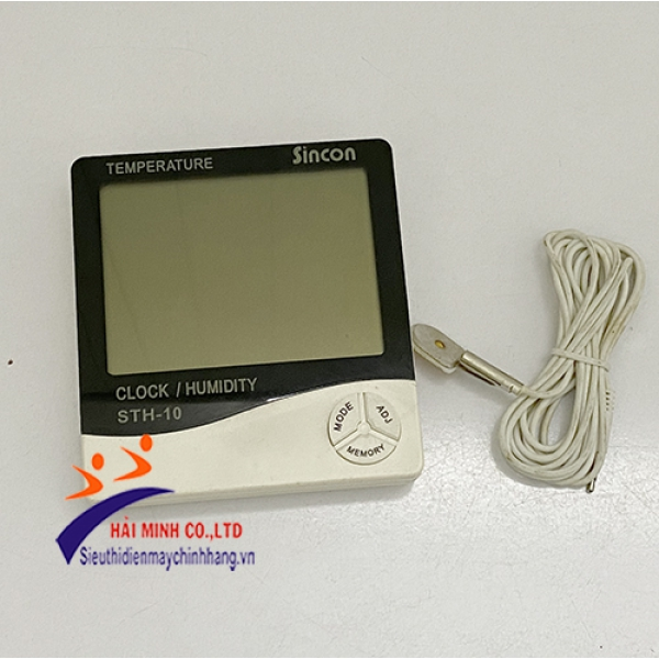 Máy đo nhiệt độ độ ẩm Sincon STH-10