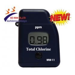 Máy quang phổ đo Chlorine tổng Milwaukee MW11