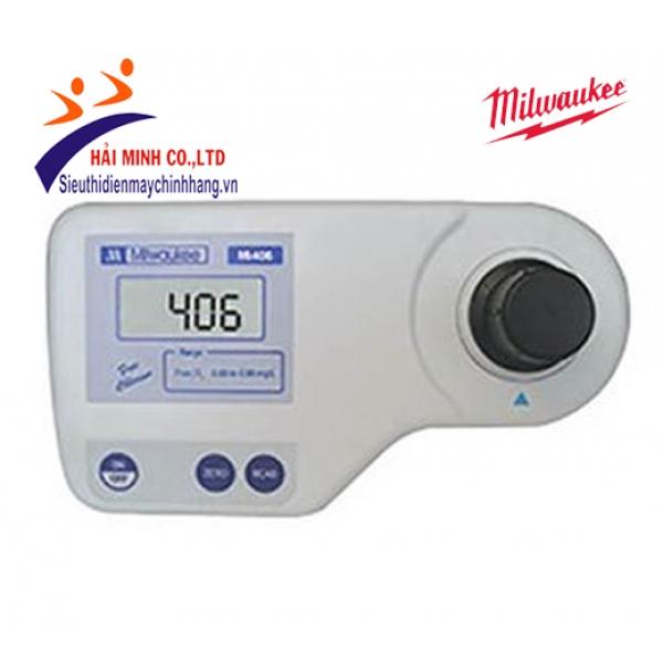 Máy quang phổ đo Chlorine tự do Milwaukee Mi406