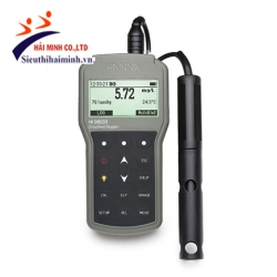 Máy đo oxy hòa tan và nhiệt độ Hanna HI98193 (chuyên nghiệp cáp 4m)