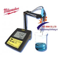 Máy đo pH/nhiệt độ để bàn Milwaukee MI 150