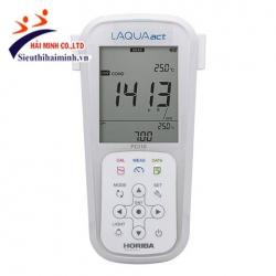 Máy đo pH / ORP / độ dẫn / TDS / điện trở / độ mặn cầm tay HORIBA LAQUAact PC110