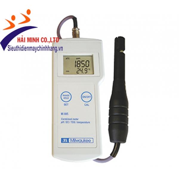 Máy đo pH/EC/TDS/Nhiệt độ cầm tay MILWAUKEE Mi805