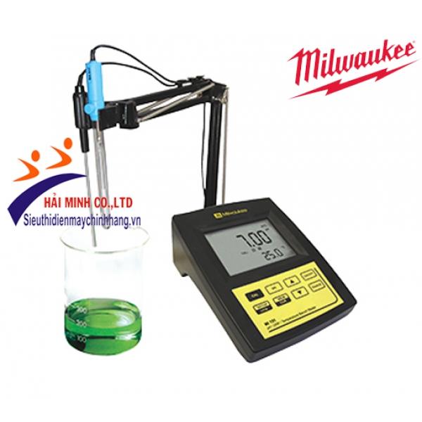 Máy đo pH-mV-nhiệt độ để bàn Milwaukee MI 151