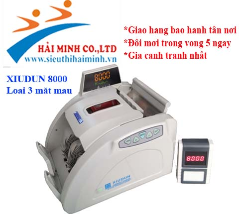 May dem tien XIUDUN 8000