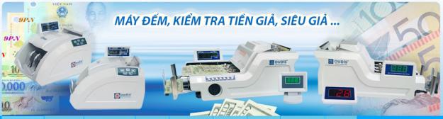 Máy đếm tiền và phát hiện tiền giả