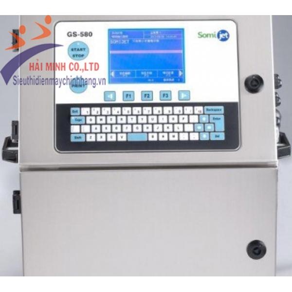 Máy in phun date tự động HM GS 580
