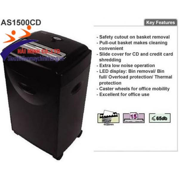 Máy hủy tài liệu AURORA AS1500 CD