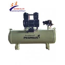 Máy nén khí không dầu giảm âm Pegasus TM-OF1500 (70L)