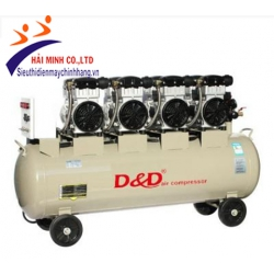 Máy nén khí giảm âm không dầu D&D SF1100*4