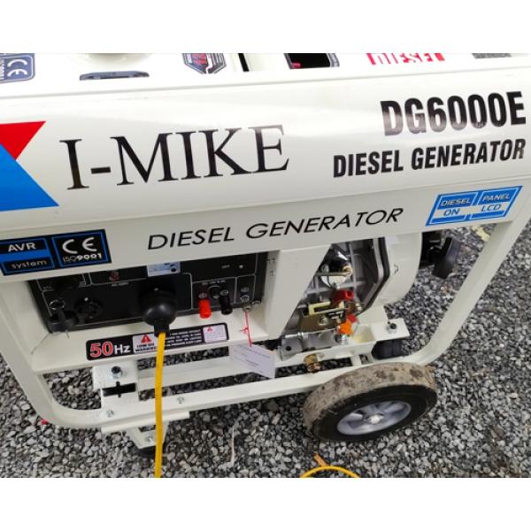 Máy phát điện chạy dầu Diesel I-MIKE DG-6000E (5KVA trần)