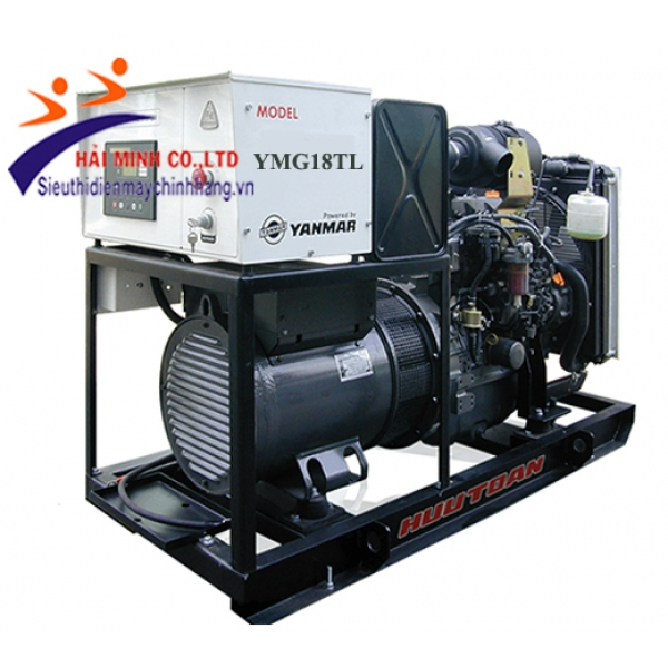 Máy phát điện Yanmar YMG18TL( máy trần 3 pha)