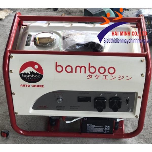 Máy phát điện Bamboo 3800C (2,8KW)