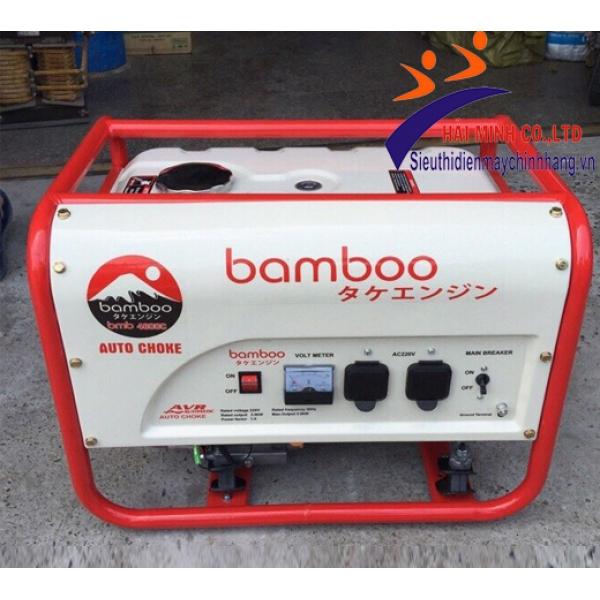 Máy phát điện Bamboo BmB 3800E (2,8KW đề)