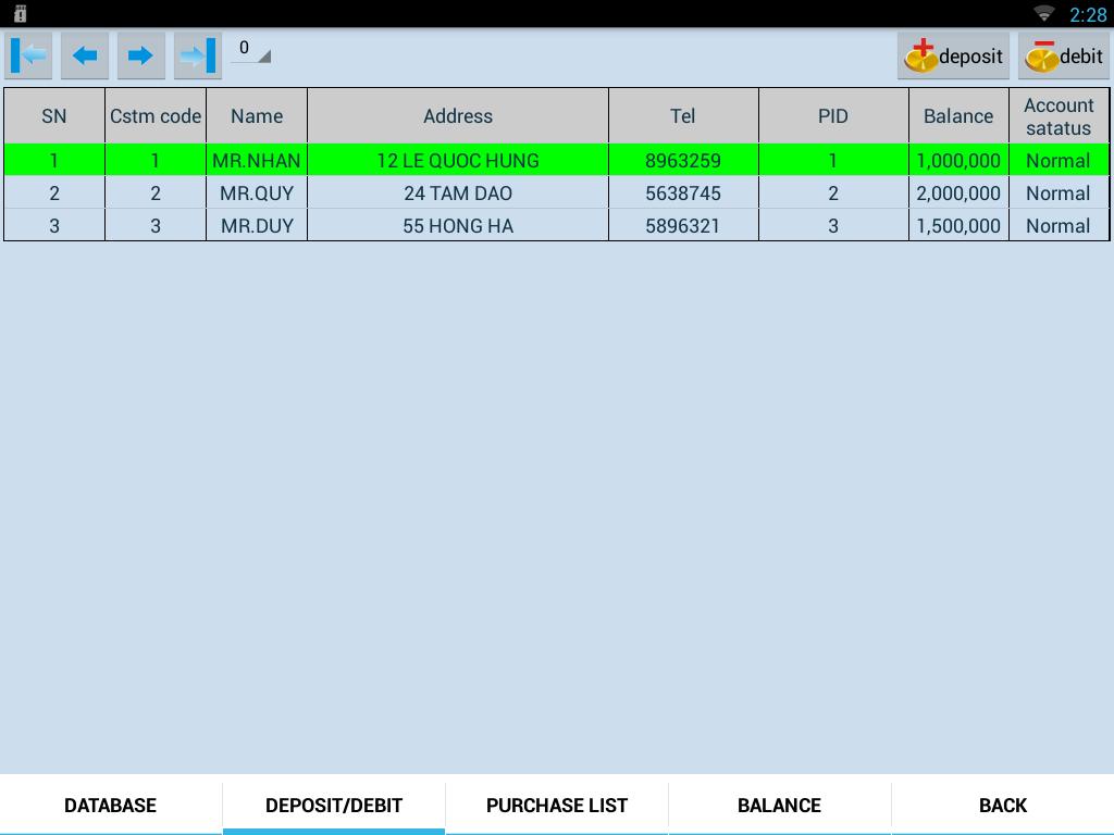 Máy tính tiền cảm ứng TOPCASH POS QT68