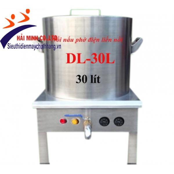Nồi nấu phở điện liền nồi DL-30L
