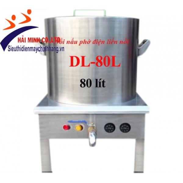 Nồi nấu phở điện liền nồi DL-80L