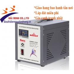 Ổn áp Robot 3KVA RENO 818 (140V - 250V)