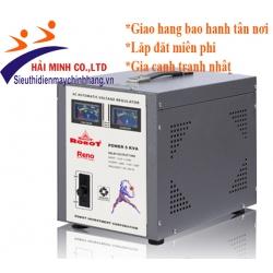 Ổn áp Robot 5KVA RENO 818 (140V - 250V)