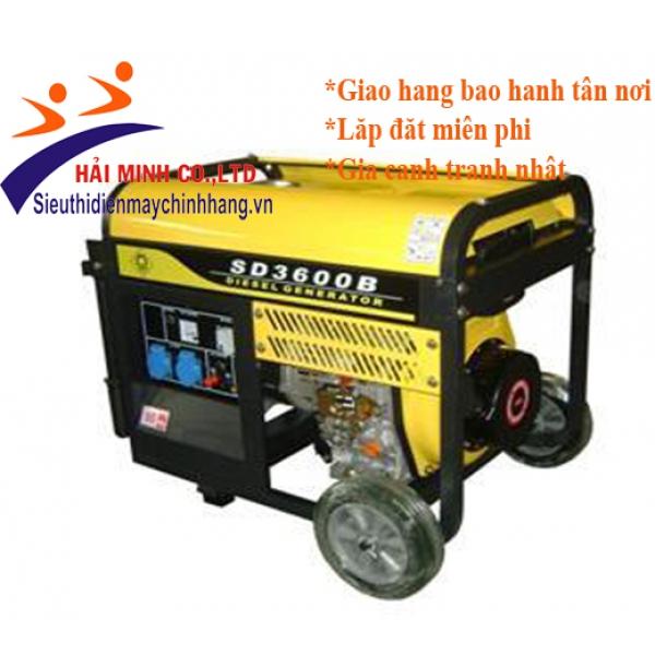 Máy phát điện diesel SAMDI SD3000EB (2-2.5kw đề)