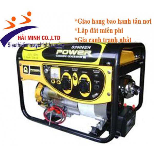 Máy phát điện xăng Samdi S3600ENW (2,8kw đề)