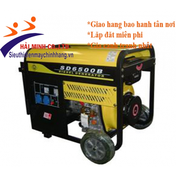 Máy phát điện diesel SAMDI SD6500B