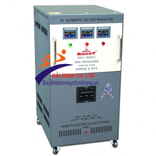 Ổn áp ROBOT 6KVA 3 Pha (260V - 430V)
