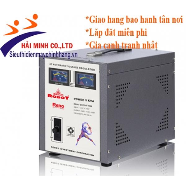 Ổn áp Robot 5KVA RENO 818 (90V - 250V)