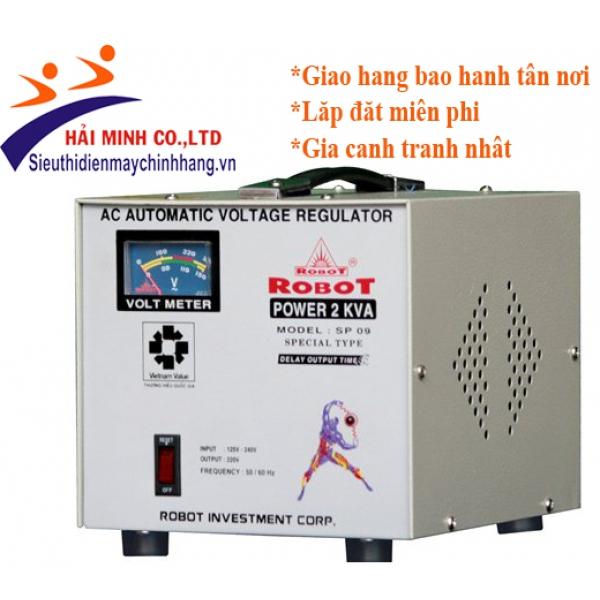 Ổn áp Robot SP09 2KVA (140V- 250V)