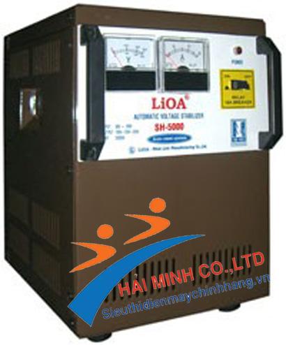 ổn áp 5kva lioa DRI-5000 1 pha
