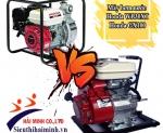 So sánh máy bơm nước Honda WB30XT và Honda GX100