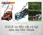 SALE xe đẩy cắt cỏ tại Hải Minh