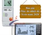 Giá máy đo độ ẩm và nhiệt độ Testo chính hãng 2020?