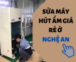 Sửa chữa máy hút ẩm công nghiệp uy tín ở Nghệ An